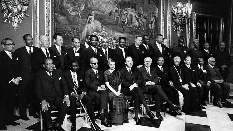 Commonwealth Heads of Government meeting in London, 1969