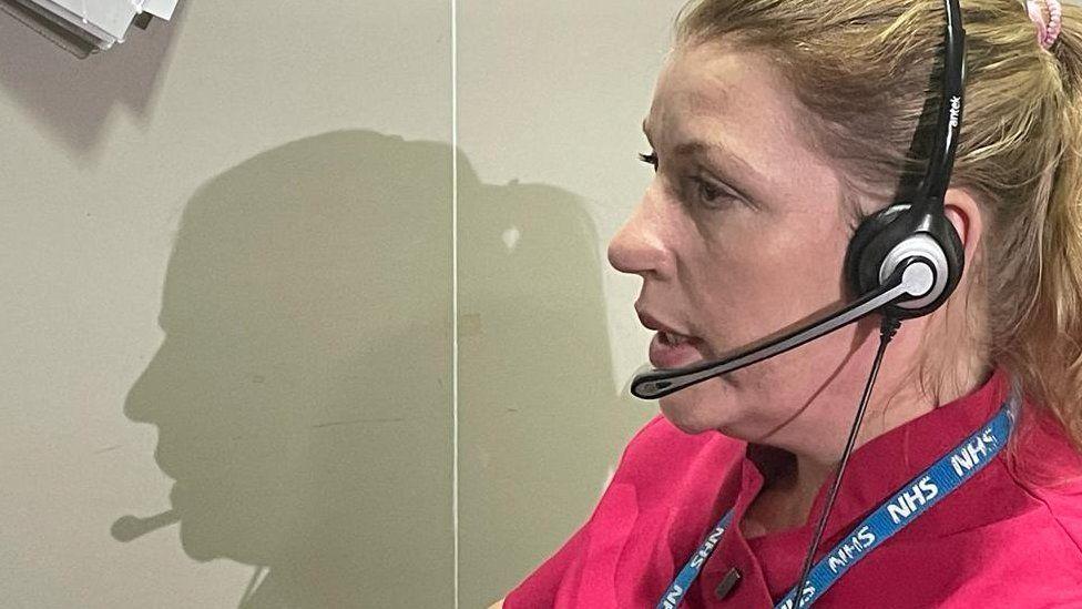 Call handler and receptionist Maria Costa