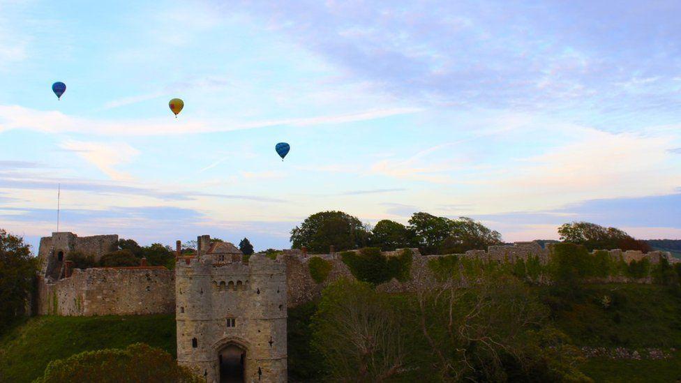 Robin Hill hot air balloons