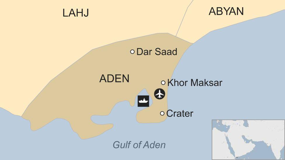 Map of Aden