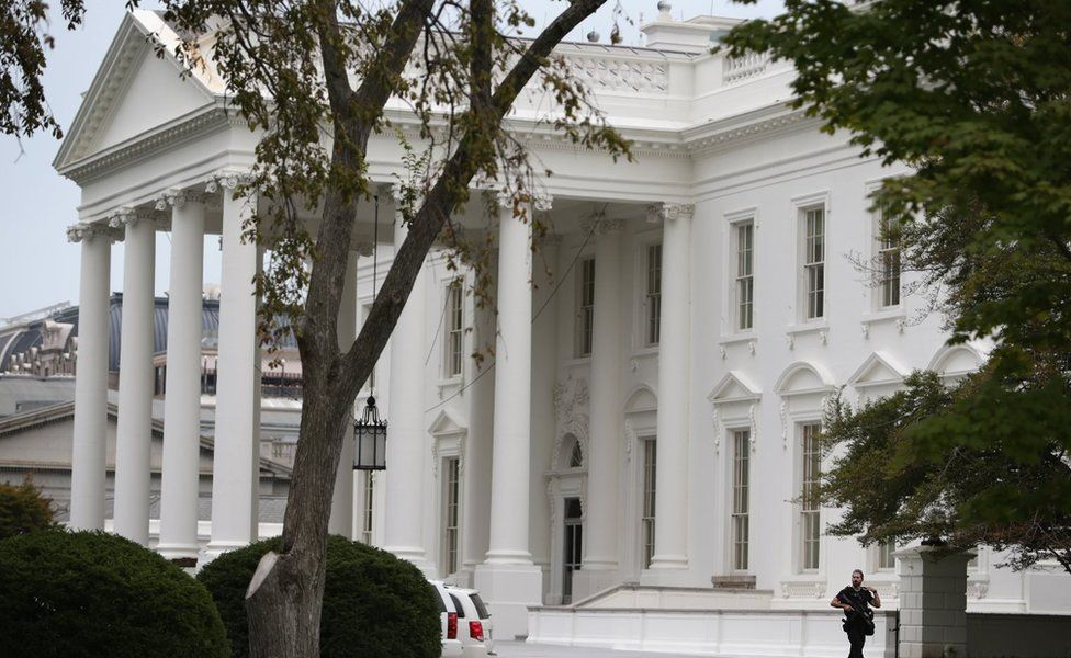 North Portico of the White House September 29, 2014