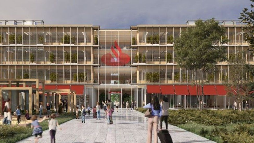 Santander's plan for new £75m operations hub in Bootle approved