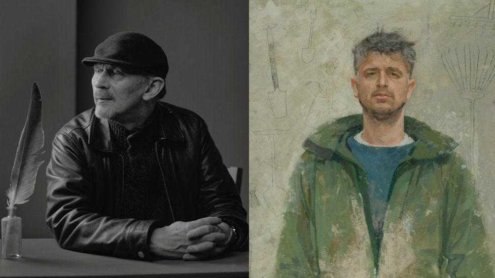 The winners portraits in the Scottish Portrait Awards