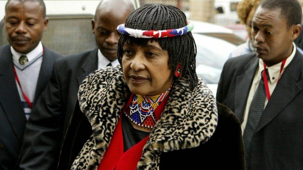Winnie Madikizela-Mandela appearing at court in Pretoria