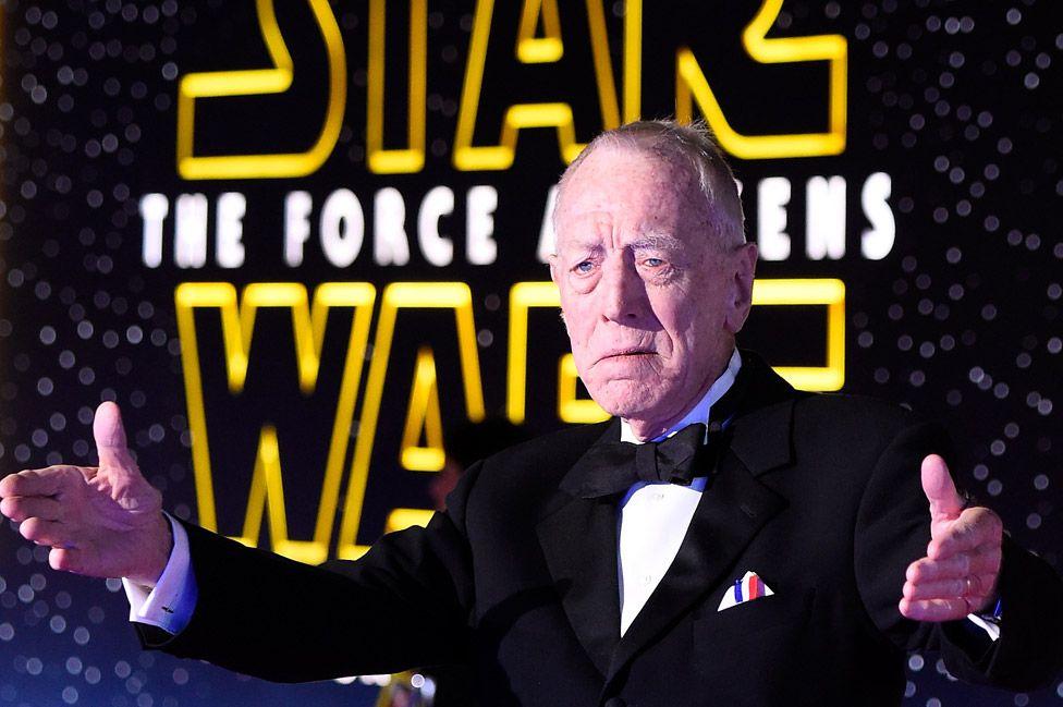 He played Lor San Tekka in Star Wars: The Force Awakens