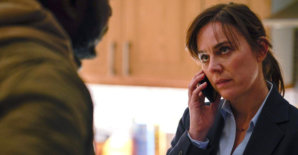 Jill Halfpenny in Dark Money