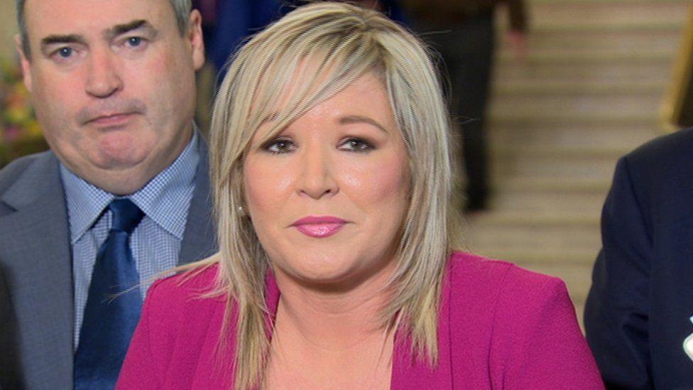 Sinn Féin's Michelle O'Neill