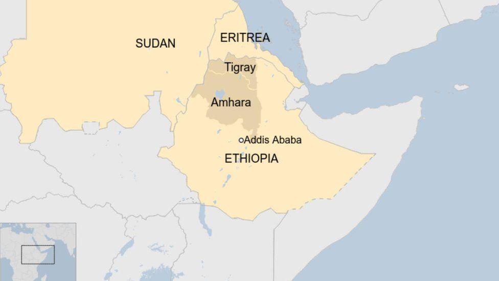 Tigray map
