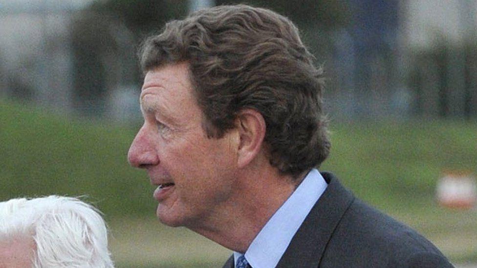 The Earl Peel, the Lord Chamberlain, seen in 2010