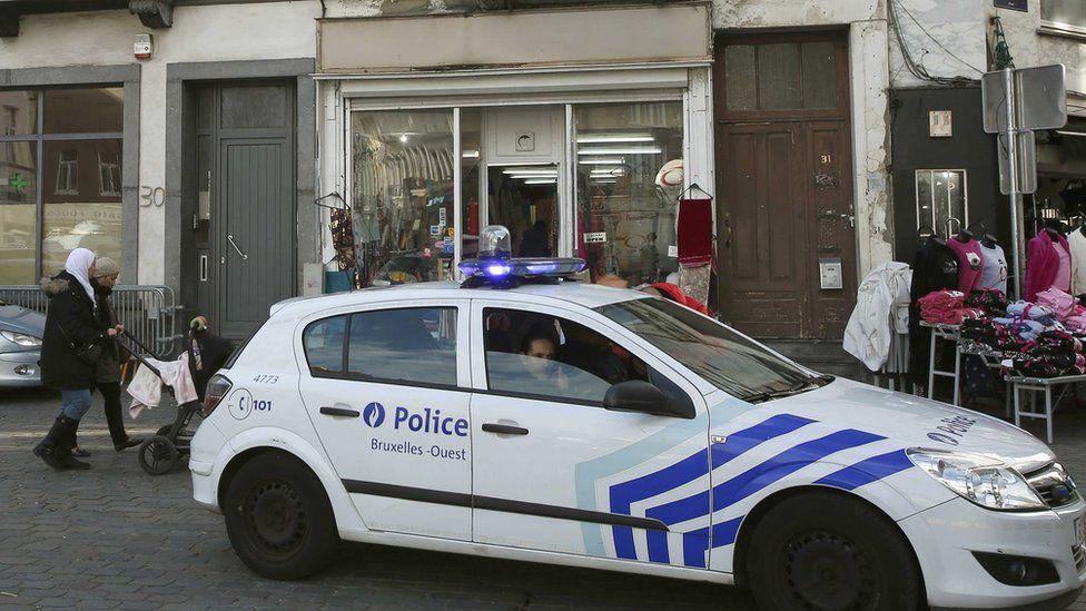 Molenbeek - police car