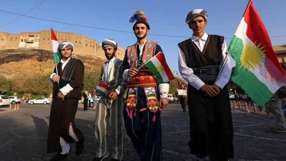 Iraqi Kurds in Irbil (13/09/17)