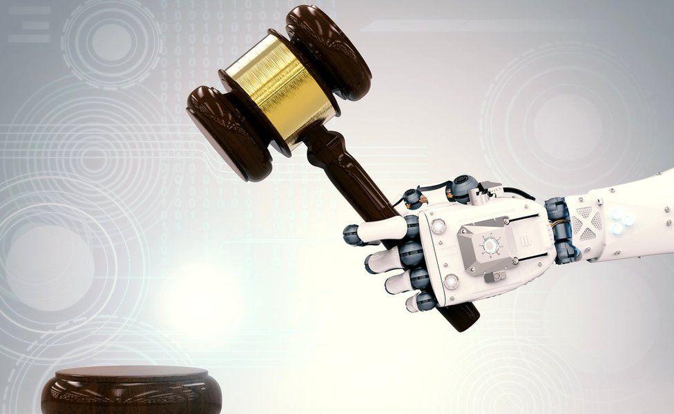 Robot gavel