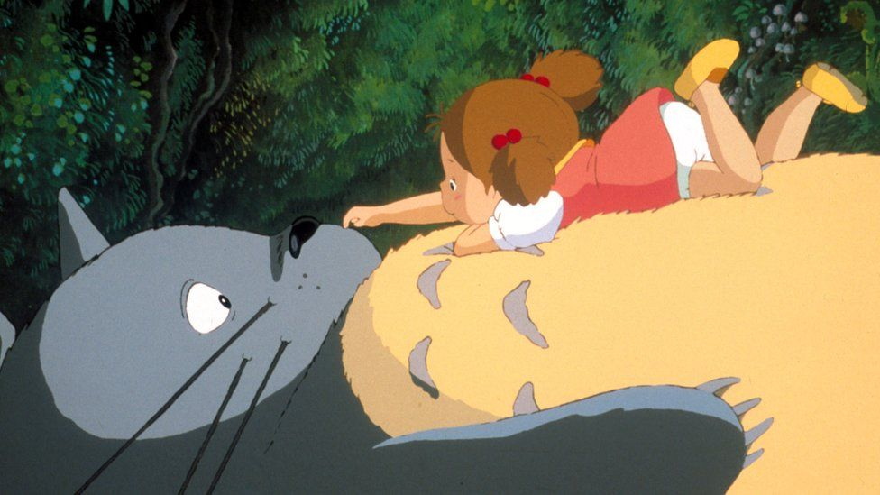 A scene from My Neighbour Totoro