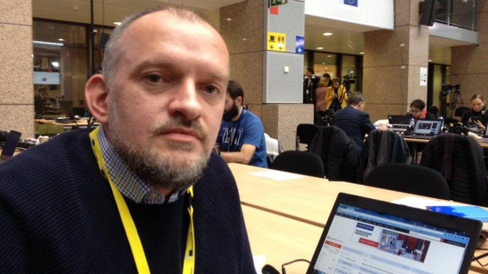 Polish journalist Tomasz Bielecki