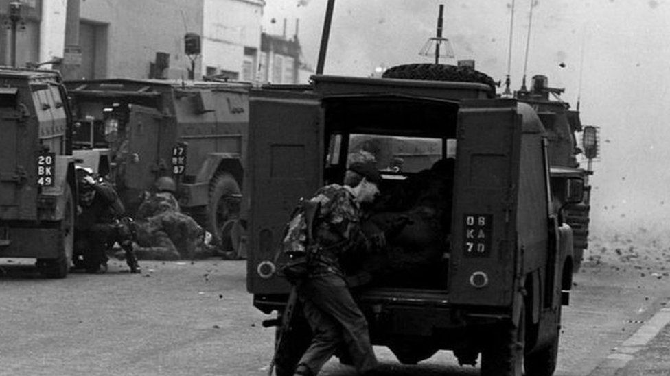 Army operations on the streets of Northern Ireland