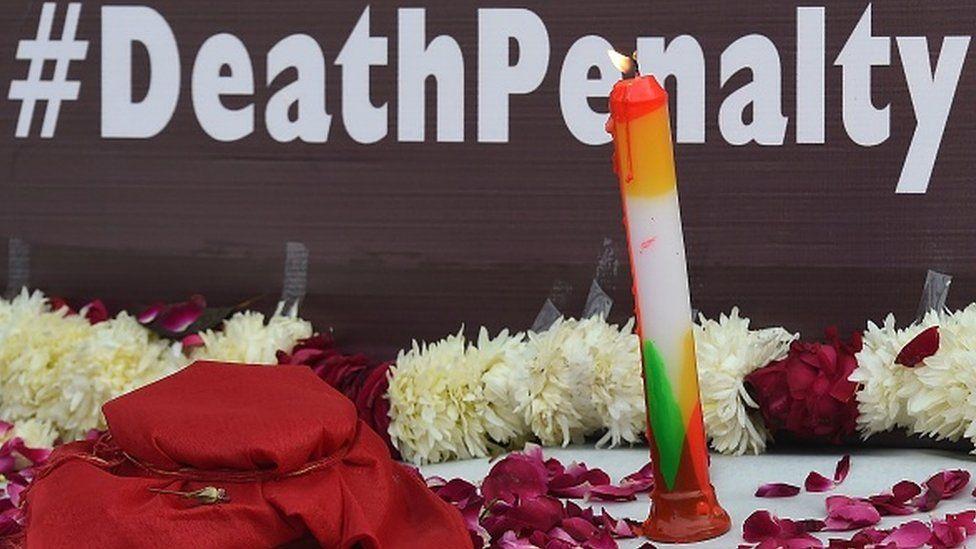 A protest demanding death penalty for rapists