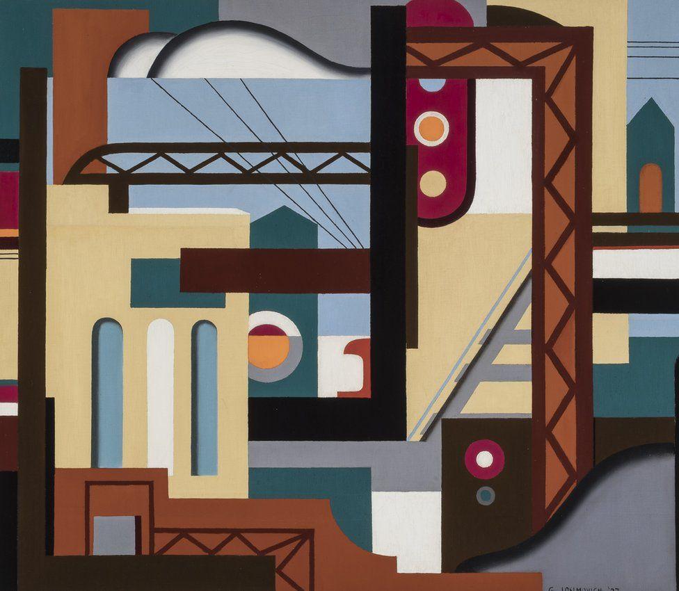 Illinois Central by George Josimovich (1927)