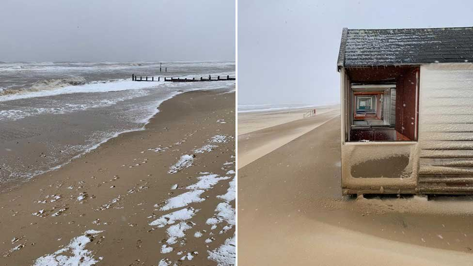 Southwold in Storm Darcy