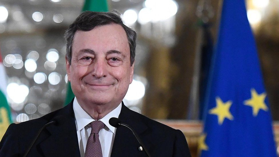 Italy's 5Stars back Draghi as next Italian prime minister
