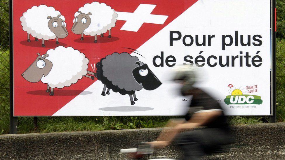 Swiss referendum poster