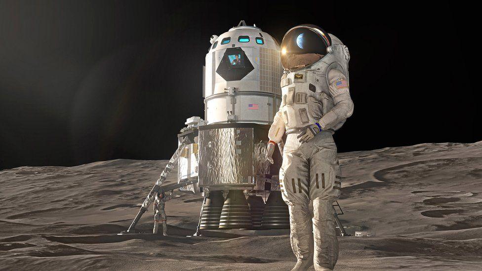 Lunar lander concept Lockheed Martin