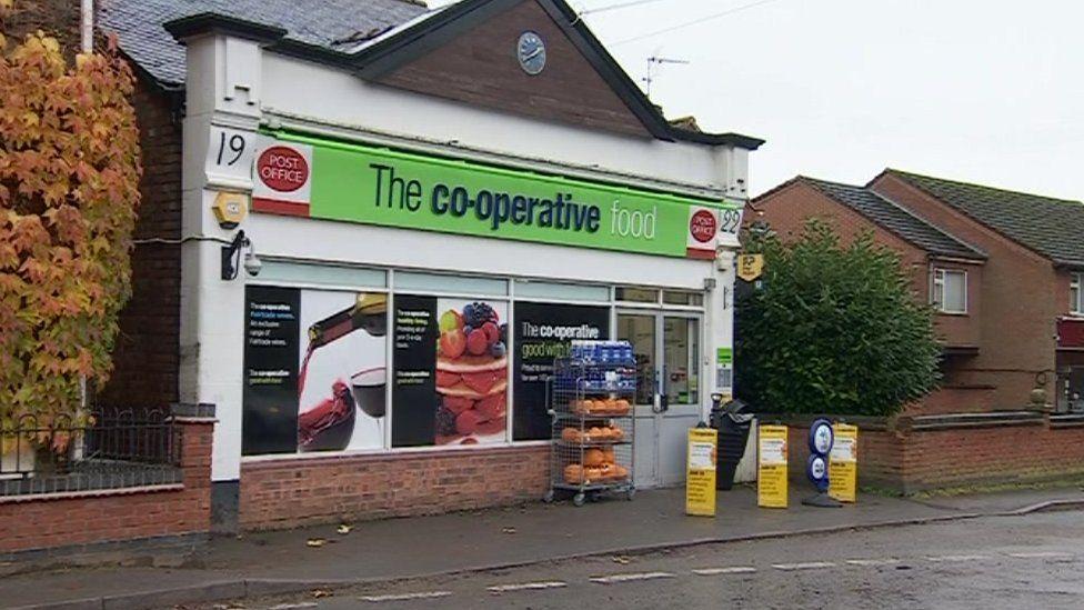 Co-op store in Barlestone