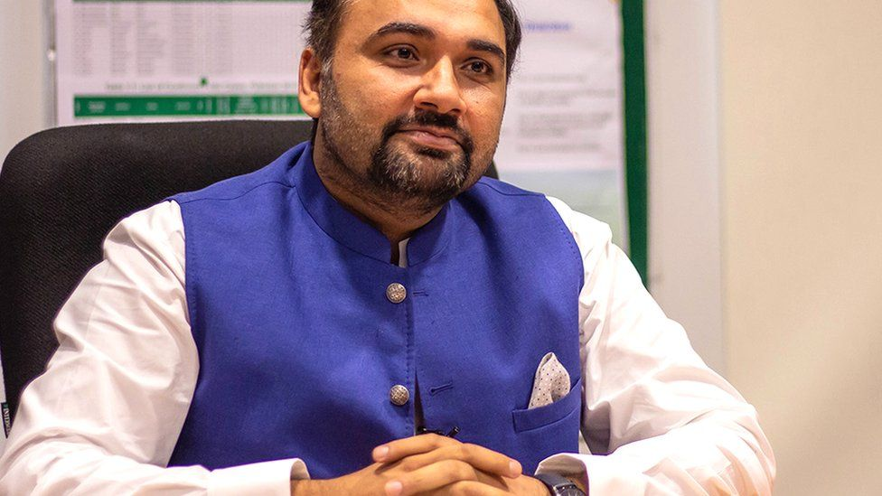 Babar Atta, Pakistan's most senior government official in charge of its polio programme