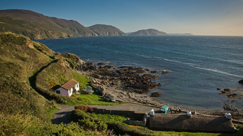 View of Niarbyl Bay