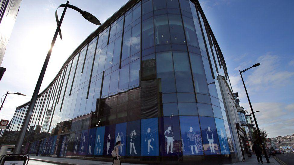 Apple's European headquarters in Cork city centre, southern Ireland