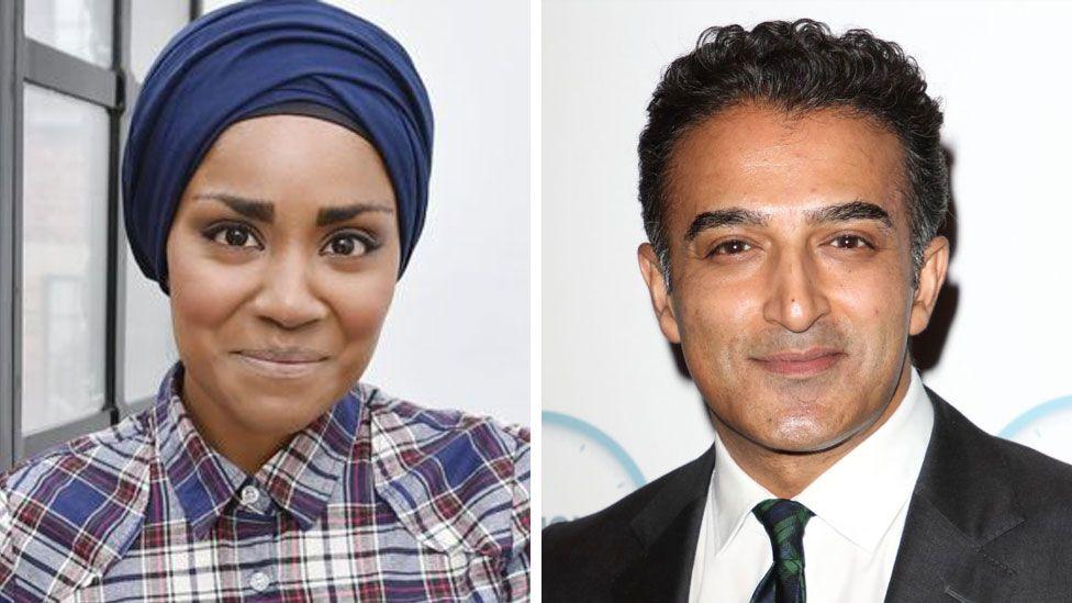 Nadiya Hussain and Adil Ray