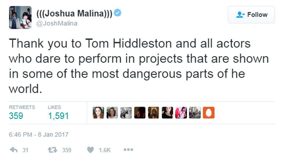 Joshua Malina tweet