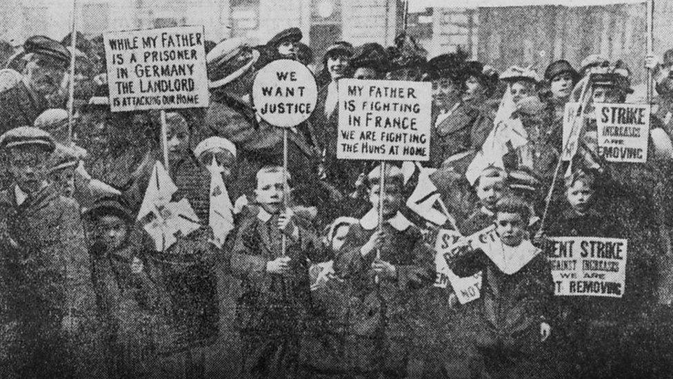 Glasgow rent strikes of 1915