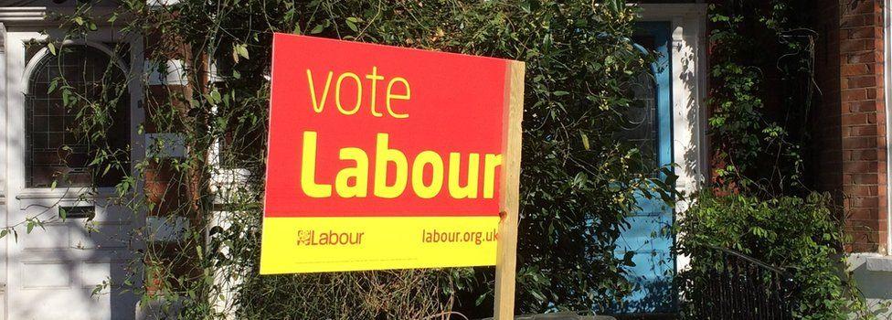 Labour sign