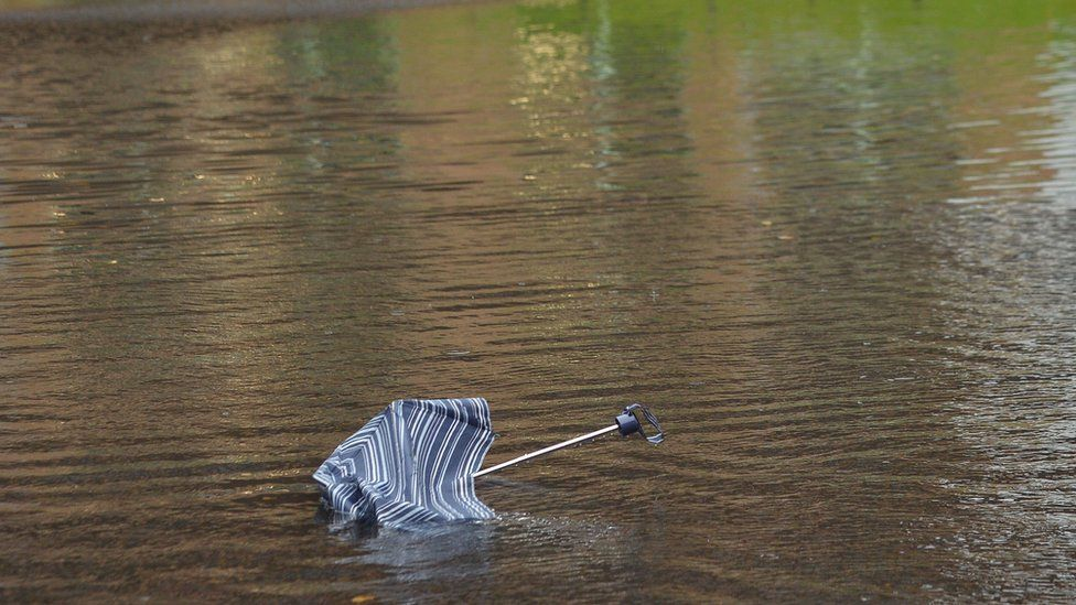 Umbrella flood