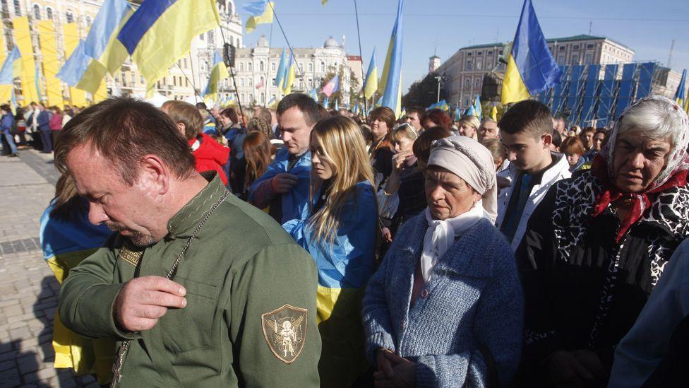 Kiev mass, 14 Oct 18