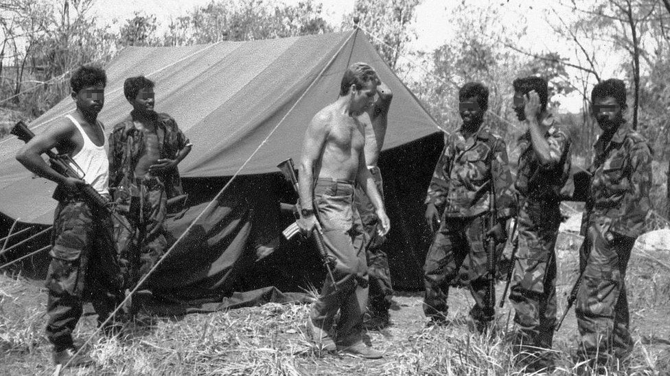 Soldiers in Sri Lanka
