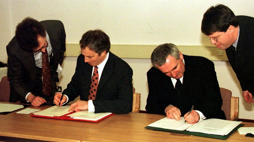 Signing of the Good Friday Agreement