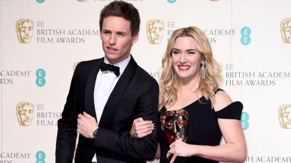 Eddie Redmayne and Kate Winslet