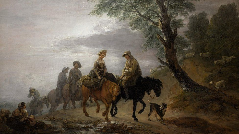 Thomas Gainsborough's 'Going to Market, Early Morning'