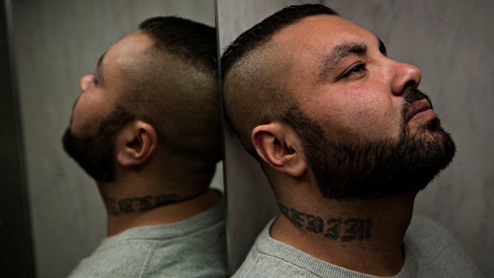 Nedim Yasar, a former gang member who was fatally shot a day before the launch of a book about his life (3 February 2017)