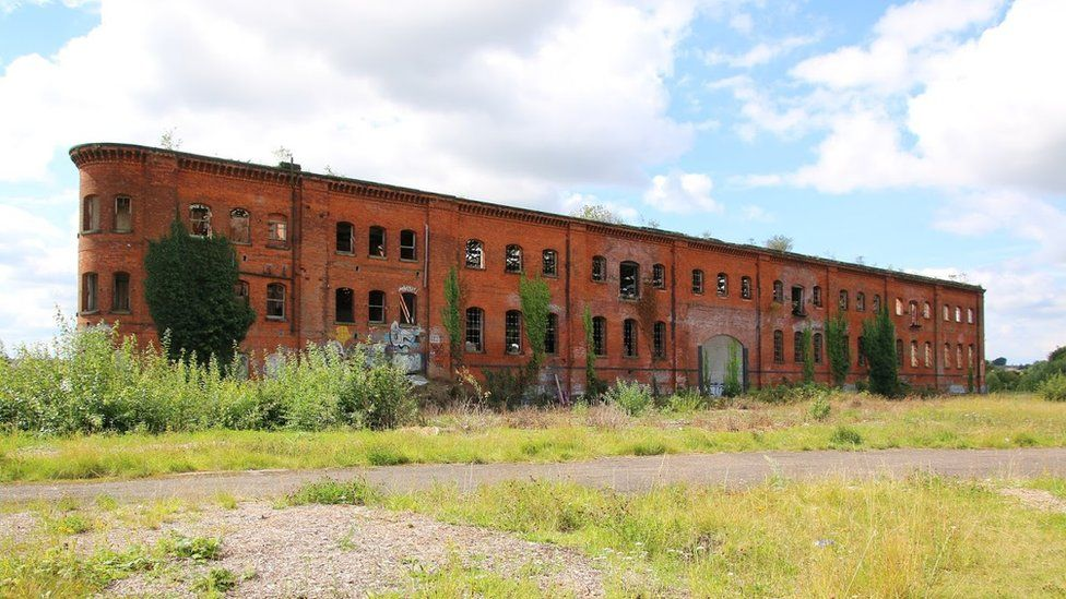 The Great Northern Railway Warehouse, Derby