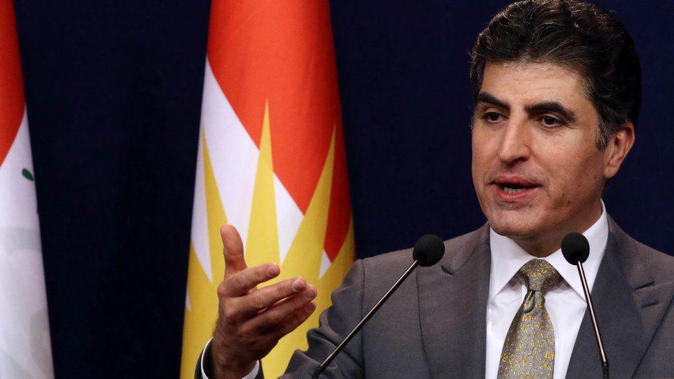 Iraqi Kurdistan's Prime Minister Nechirvan Barzani