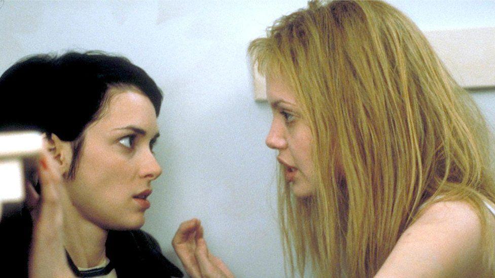 Angelina Jolie (r) won an Oscar for Girl, Interrupted