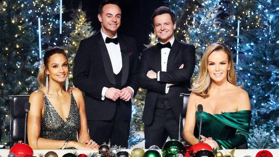 (Left to right) Alesha Dixon, Ant and Dec, and Amanda Holden ahead of last month's Britain's Got Talent Christmas show