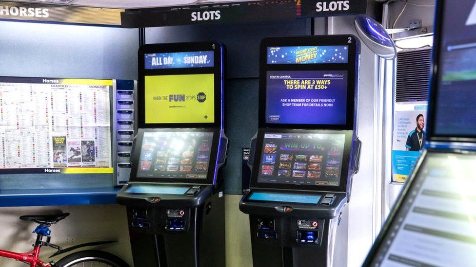 Betting terminals in a bookmaker's