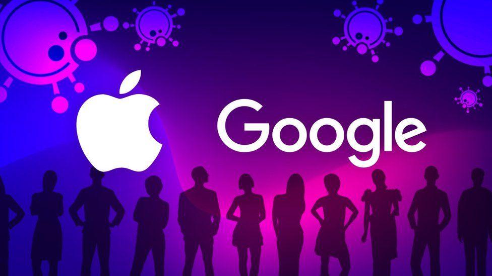 Apple Google graphic