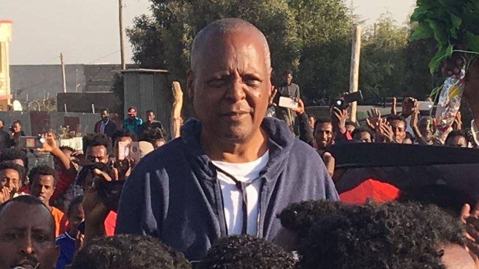 Ethiopian opposition leader