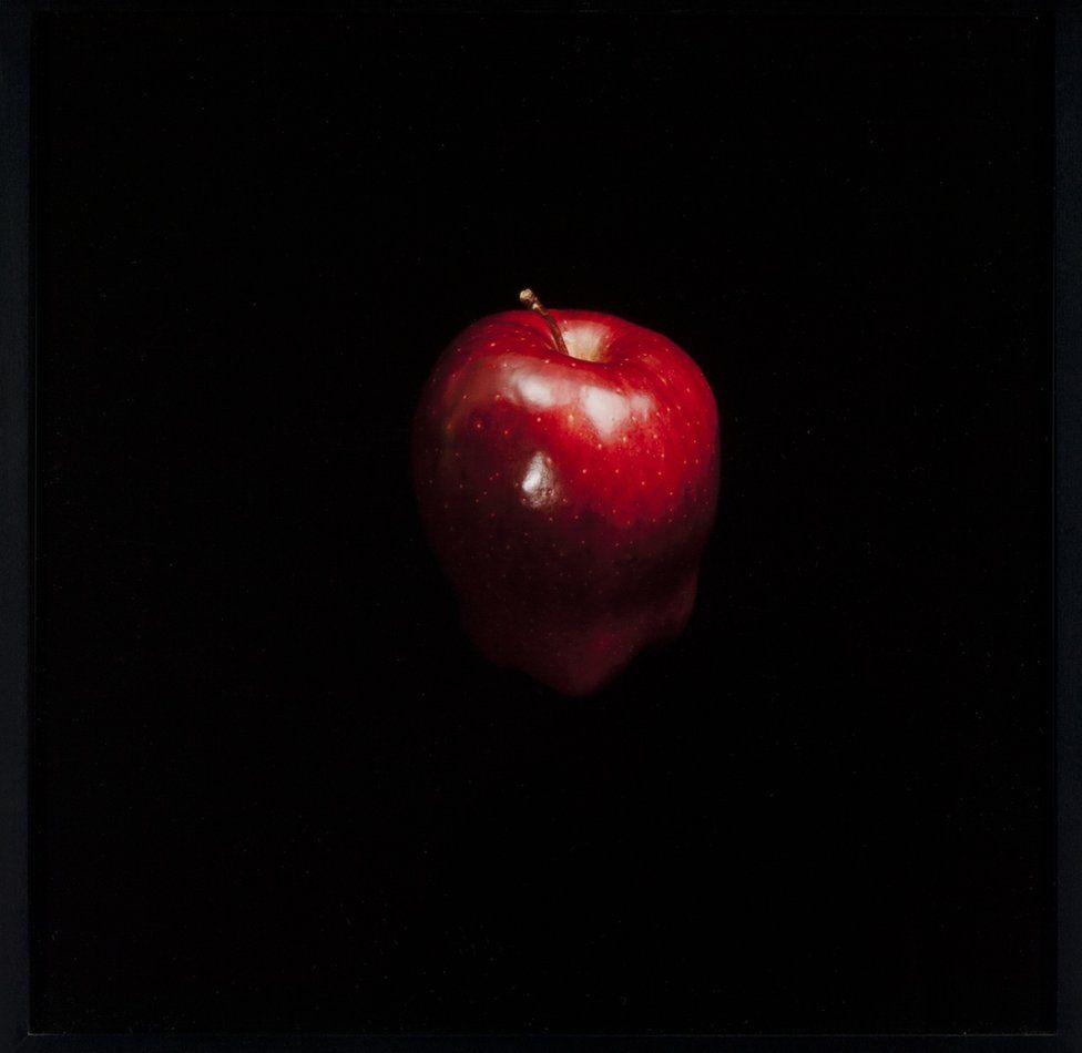 Manzana roja.