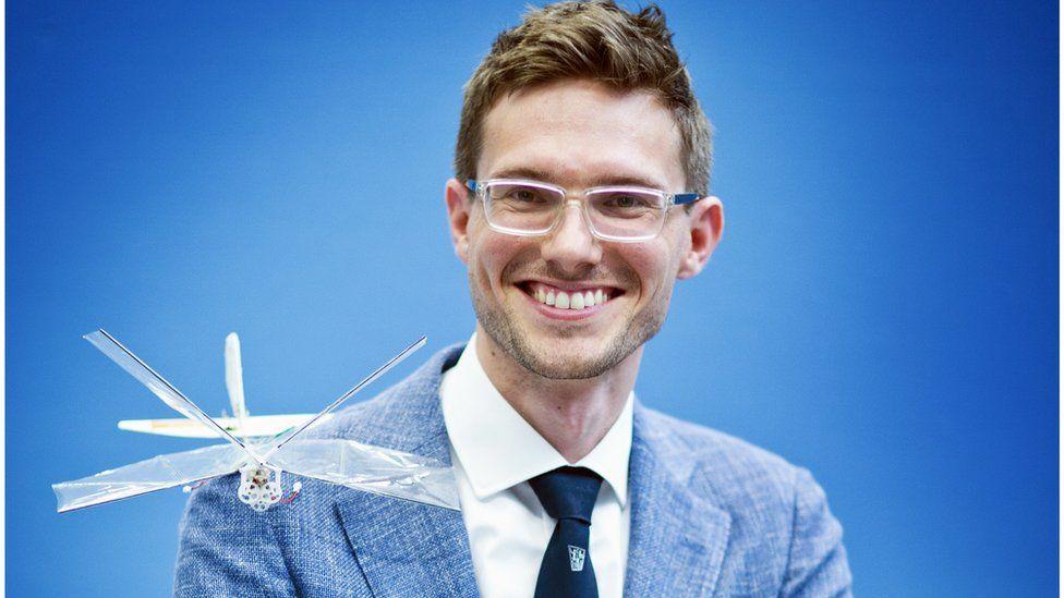 Guido de Croon, a Professor at Delft University of Technology