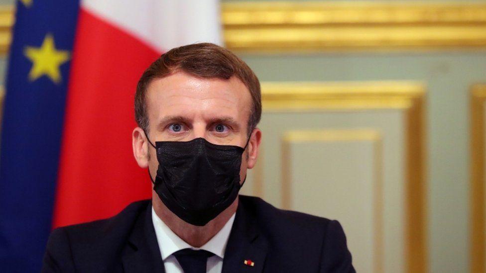 Macron Can Understand Muslims Muhammad Cartoons Shock Bbc News